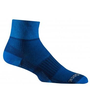 Wrightsock Coolmesh Navy blauw/Elektrisch blauw