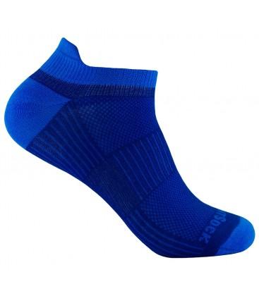 Wrightsock Coolmesh Low Tab Electric Blauw