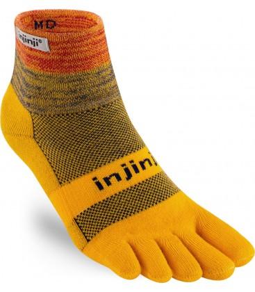 Injinji Trail Midweight Mini-Crew goud geel