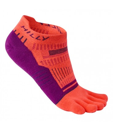 Hilly Toe Socklet (No-show) teensokken oranje