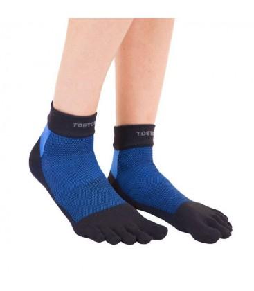 TOETOE Outdoor Liner enkel teensokken blauw